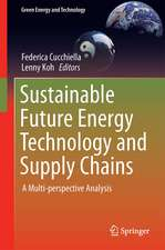 Sustainable Future Energy Technology and Supply Chains: A Multi-perspective Analysis