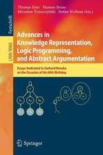 Advances in Knowledge Representation, Logic Programming, and Abstract Argumentation: Essays Dedicated to Gerhard Brewka on the Occasion of His 60th Birthday