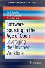 Software Sourcing in the Age of Open: Leveraging the Unknown Workforce