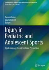 Injury in Pediatric and Adolescent Sports: Epidemiology, Treatment and Prevention