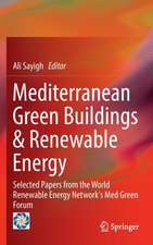 Mediterranean Green Buildings & Renewable Energy: Selected Papers from the World Renewable Energy Network's Med Green Forum