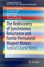 The Rediscovery of Synchronous Reluctance and Ferrite Permanent Magnet Motors: Tutorial Course Notes