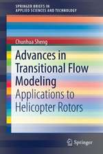Advances in Transitional Flow Modeling: Applications to Helicopter Rotors