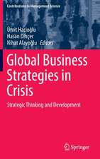 Global Business Strategies in Crisis: Strategic Thinking and Development