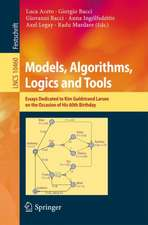 Models, Algorithms, Logics and Tools: Essays Dedicated to Kim Guldstrand Larsen on the Occasion of His 60th Birthday