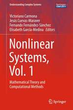 Nonlinear Systems, Vol. 1: Mathematical Theory and Computational Methods