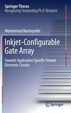 Inkjet-Configurable Gate Array: Towards Application Specific Printed Electronic Circuits