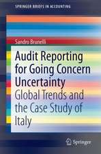 Audit Reporting for Going Concern Uncertainty: Global Trends and the Case Study of Italy