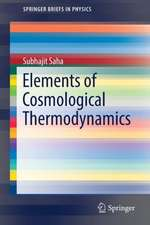 Elements of  Cosmological Thermodynamics