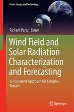 Wind Field and Solar Radiation Characterization and Forecasting: A Numerical Approach for Complex Terrain
