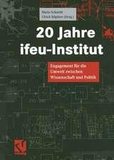 20 Jahre ifeu-Institut: Engagement für die Umwelt zwischen Wissenschaft und Politik