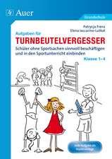 Aufgaben für Turnbeutelvergesser Klasse 1-4