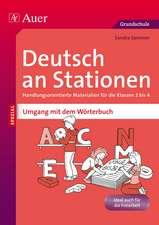 Deutsch an Stationen Umgang mit dem Wörterbuch