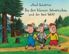 Die drei kleinen Schweinchen und der böse Wolf