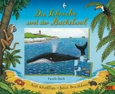 Die Schnecke und der Buckelwal Puzzle-Buch