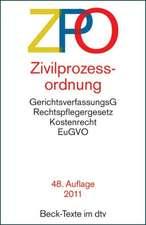 Zivilprozessordnung - ZPO