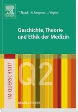 Im Querschnitt - Geschichte, Theorie und Ethik in der Medizin
