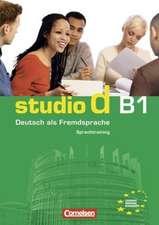 studio d b1. Gesamtband 3 (Einheit 1-10)