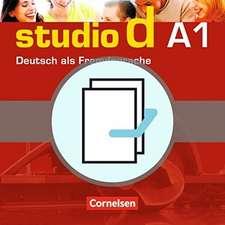 studio d - Grundstufe A1: Gesamtband. Kurs- und Übungsbuch mit Lerner-CD und Sprachtraining