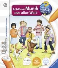 tiptoi® Entdecke Musik aus aller Welt: 4-7 ani