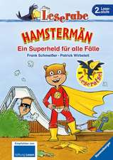 Leserabe: Hamstermän. Ein Superheld für alle Fälle