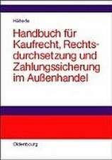 Handbuch für Kaufrecht, Rechtsdurchsetzung und Zahlungssicherung im Außenhandel