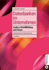 Datenbanken im Unternehmen: Analyse, Modellbildung und Einsatz
