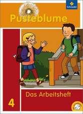 Pusteblume. Das Sprachbuch 4. Arbeitsheft mit CD-ROM.  Berlin, Brandenburg, Mecklenburg-Vorpommern und Sachsen-Anhalt
