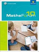 MatheForum 10. Schülerband mit CD-ROM. Niedersachsen und Nordrhein-Westfalen