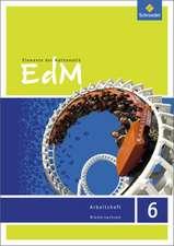 Elemente der Mathematik 6. Arbeitsheft. Sekundarstufe 1. G9. Niedersachsen