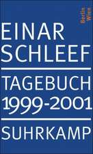 Tagebuch 1999-2001