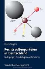 Rechtsaussenparteien in Deutschland:  Bedingungen Ihres Erfolges Und Scheiterns