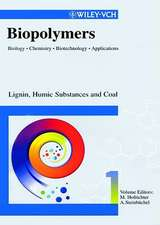 Biopolymers: Biology, Chemistry, Biotechnology, Applications Set + Index