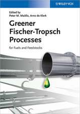 Greener Fischer–Tropsch Processes for Fuels and Feedstocks