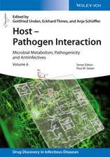Host – Pathogen Interaction: Microbial Metabolism, Pathogenicity and Antiinfectives