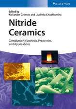 Nitride Ceramics: Combustion Synthesis, Properties and Applications