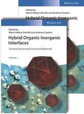 Hybrid Organic–Inorganic Interfaces