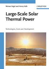 Large–Scale Solar Thermal Power: Technologies, Costs and Development