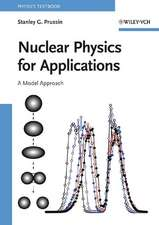 Nuclear Physics for Applications: A Model Approach