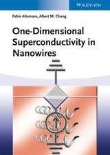 One–Dimensional Superconductivity in Nanowires