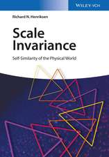 Scale Invariance: Self–Similarity of the Physical World