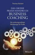 Das Grosse Praxis–Handbuch Business Coaching: Die wirkungsvollsten Werkzeuge für Profis