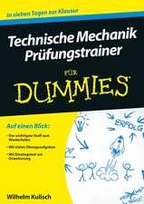 Technische Mechanik Prufungstrainer für Dummies
