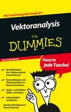 Vektoranalysis für Dummies: Das Pocketbuch