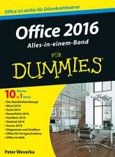 Office 2016 für Dummies Alles–in–einem–Band