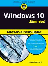 Windows 10 Alles–in–einem–Band für Dummies