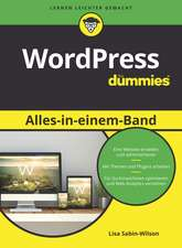 WordPress Alles–in–einem–Bandfür Dummies