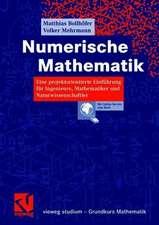 Numerische Mathematik: Eine projektorientierte Einführung für Ingenieure, Mathematiker und Naturwissenschaftler