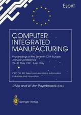 Computer Integrated Manufacturing: Proceedings of the Seventh CIM-Europe Annual Conference 29–31 May 1991, Turin, Italy. CEC DG XIII: Telecommunications, Information Industries and Innovation
