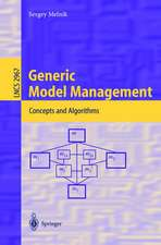 Generic Model Management: Concepts and Algorithms